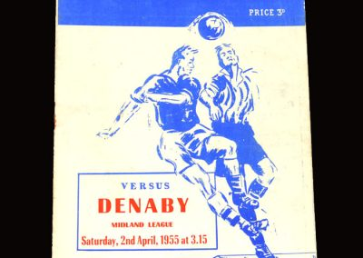 Peterborough v Denaby 02.04.1955 (election to league)