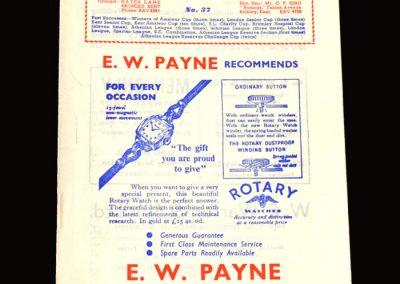 Bromley v St Albans 02.04.1955