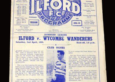Ilford v Wycombe 02.04.1955