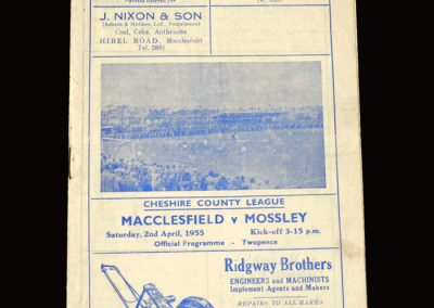 Macclesfield v Moseley 02.04.1955