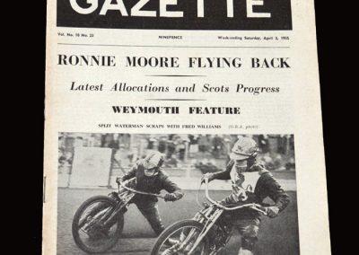 Speedway Gazete 02.04.1955