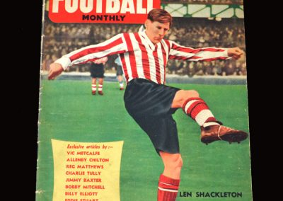 Charles Buchan's Football Monthly April 1955