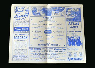 Chelsea v Plymouth 19.04.1946