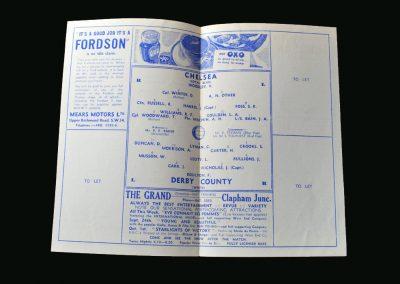 Derby v Chelsea 19.09.1945