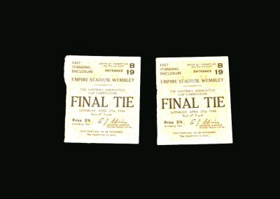 Derby v Charlton 27.04.1946 (FA Cup Final Tickets)