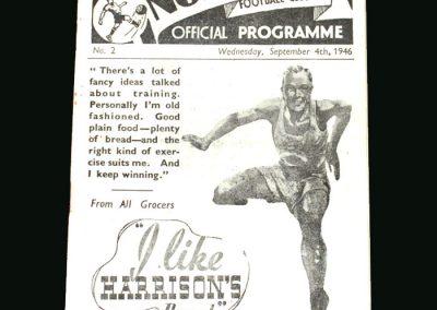Preston v Sheff Utd 04.09.1946
