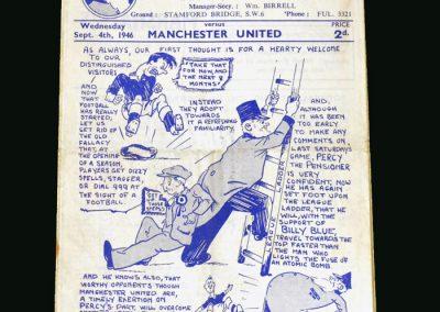 Chelsea v Man Utd 04.09.1946