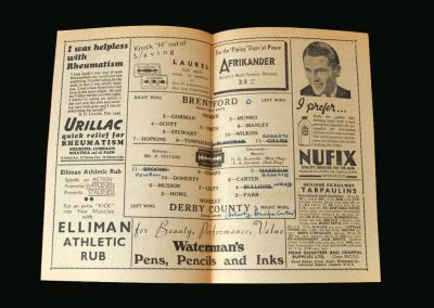 Brentford v Derby 05.10.1946