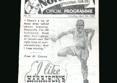 Preston v Sunderland 05.04.1947