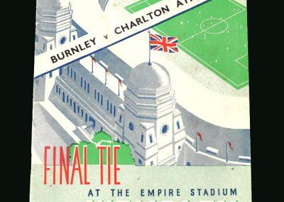FA Cup Final - Charlton v Burnley 26.04.1947