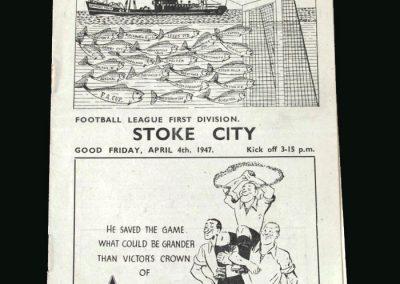 Stoke v Grimsby 04.04.1947