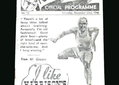 Wolves v Preston 23.11.1946