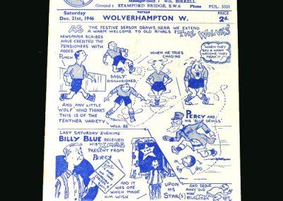 Wolves v Chelsea 21.12.1946