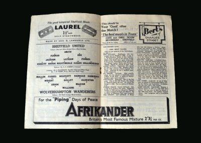Wolves v Sheff Utd 22.03.1947