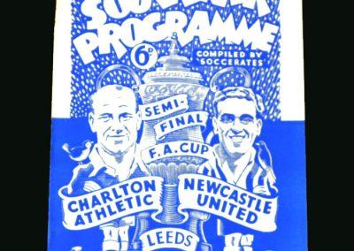 Newcastle v Charlton 29.03.1947 (FA Cup Semi Final)