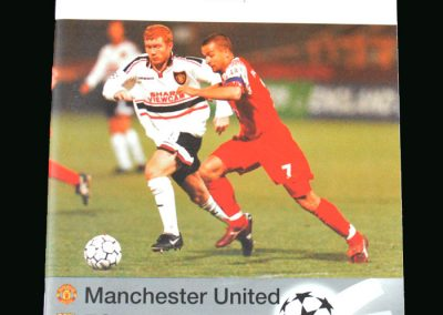 Man Utd V Barcelona 16.09.98 (Champions League Group Stage)