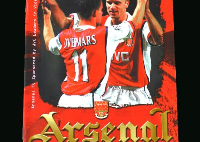 Man Utd v Arsenal 20.09.98