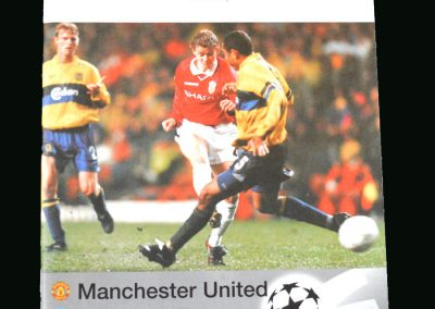 Man Utd v Brondby 04.11.98 (Champions League Group Stage)