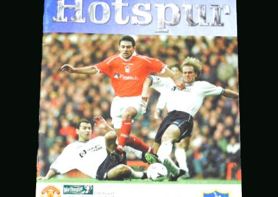 Man Utd v Spurs 02.12.98 (League Cup Round 5)