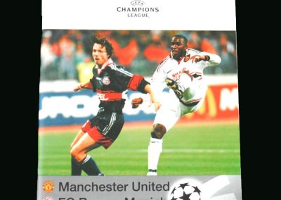 Man Utd v Bayern Munich 09.12.98 (Champions League Group Stage)