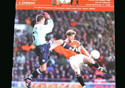 Man Utd v Liverpool 24.01.99 (FA Cup Round 4)
