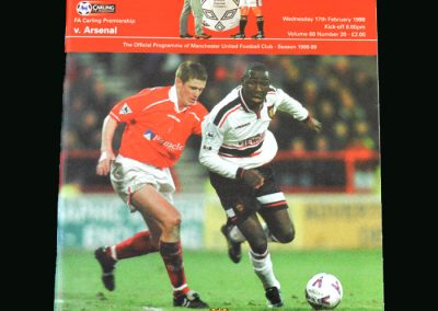 Man Utd v Arsenal 17.02.99