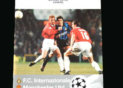Man Utd v Inter Milan (Champions League Quarter Final 2nd Round)