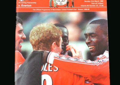 Man Utd v Everton 21.03.99