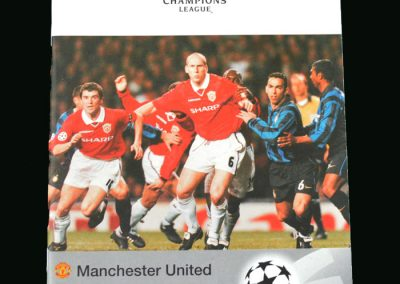 Man Utd V Juventus 07.04.99 (Champions League Semi Final 1st Round)