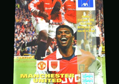 Man Utd v Arsenal 11.04.99 (FA Cup Semi FInal)