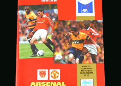 Man Utd v Arsenal 14.11.99 (FA Cup Semi Final Replay)