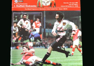 Man Utd v Sheff Wed 17.04.99