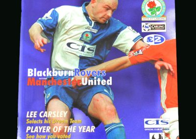 Man Utd v Blackburn 12.05.99