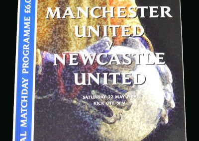 Man Utd v Newcastle 22.05.99 (FA Cup Final)