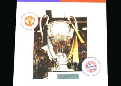 Man Utd v Bayern Munich 26.05.99 (Champions League Final)