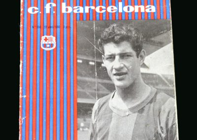 Barcelona v Real Madrid 27.04.1960 (European Cup Semi Final)