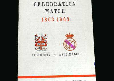 Stoke v Real Madrid 24.04.1963 (Friendly)