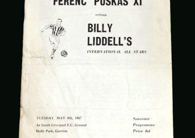 Puskas 11 v Liddell 11 09.05.1967