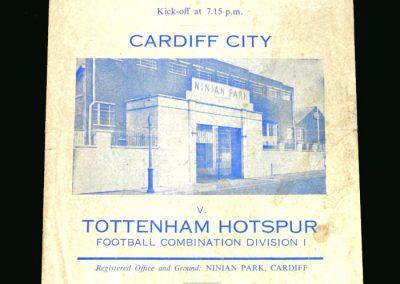 Spurs v Cardiff 01.12.1960