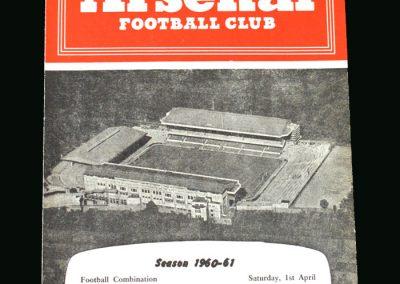 Spurs v Arsenal 01.04.1961