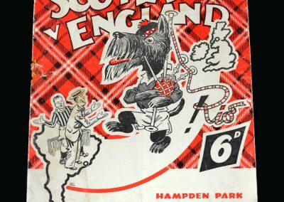 Scotland v England 15.04.1950