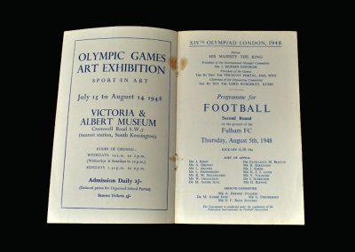 Great Britain v France 05.08.1948 (Olympics)