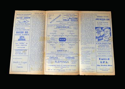 Arsenal v Portsmouth 06.09.1947