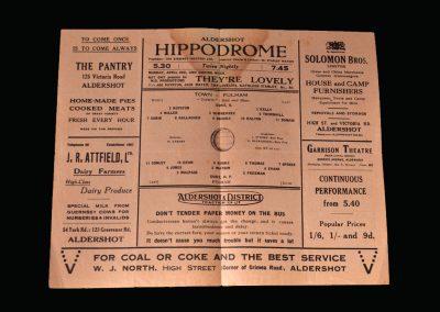 Aldershot v Fulham 24.04.1943
