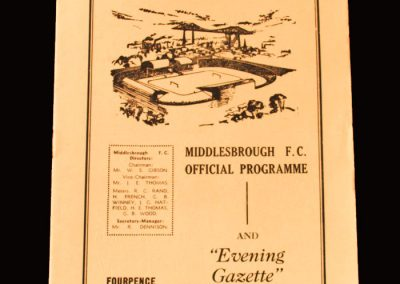 Middlesbrough v Cardiff 03.10.1960 (2 Goals)
