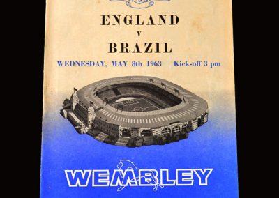 England v Brazil 08.05.1963