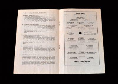 England v West Germany (Under 23) 27.11.1963