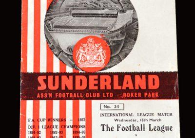 Football League v Scottish League 18.03.1964