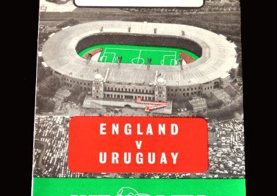 England v Uruguay 06.05.1964