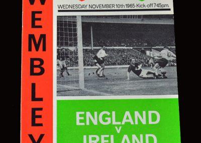 England v Northern Ireland 10.11.1965